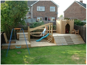 Childrens adventure playground
