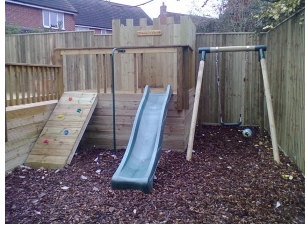 Smaller childrens playground