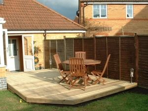 Decking in Purley on Thames